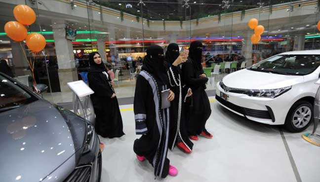 women-car-showroom