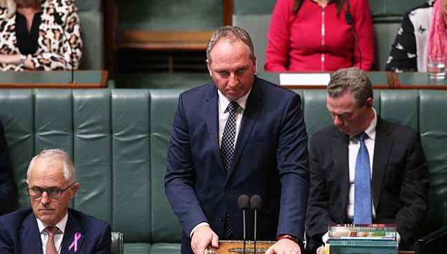 Turnbull Implements Ministerial Bonk Ban In Response To Barnaby Joyce Fiasco