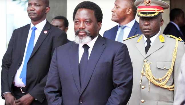 President Joseph Kabila has been dealing with unrest across DR Congo throughout his administration. (Reuters pic)