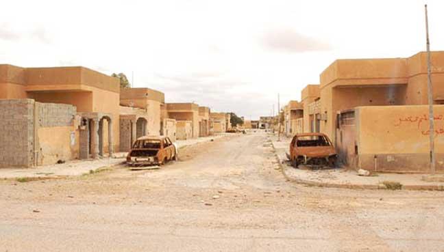 Libyan-ghost-town