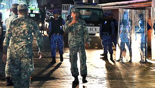 State of Emergency was Declared in the Maldives