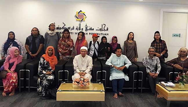 NGO-bertemu-Mufti-WP-bincang-kaji-fatwa-jejaskan-transgender