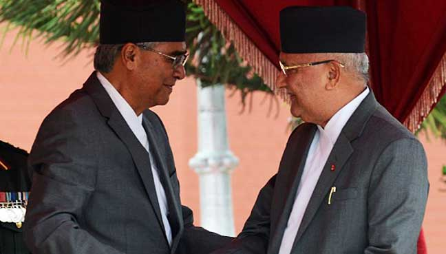 Oli appointed as PM for second time