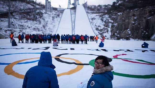 At Winter Games opening ceremony, a message of peace