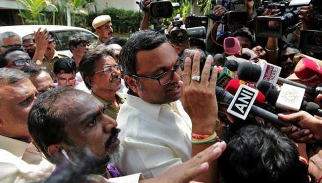 CBI arrests Karti Chidambaram in INX Media money laundering case