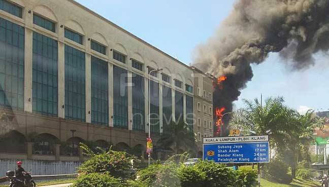 EPF employer services not affected by the fire