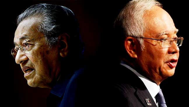 comparison between mahathir and najib Drlee hwok-aun senior fellow at the yusof ishak institute (iseas) in singapore we shouldn't commit a false equivalence between the pakatan harapan led by mahathir and the barisan led by najib, writes lee hwok aun by all means have reservations about both pakatan and barisan or be .