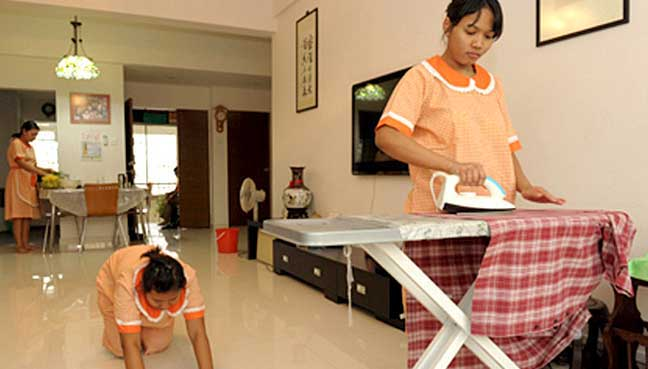 Indonesia mulls ban on sending maids to Malaysia