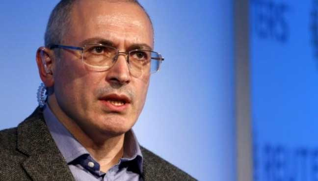 Mikhail Khodorkovsky is one of Vladimir Putin's most vocal critics. (Reuters pic)
