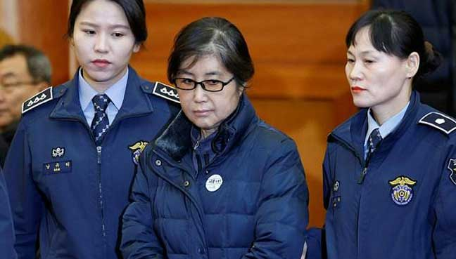 Choi Soon-sil jailed 20 years for corruption