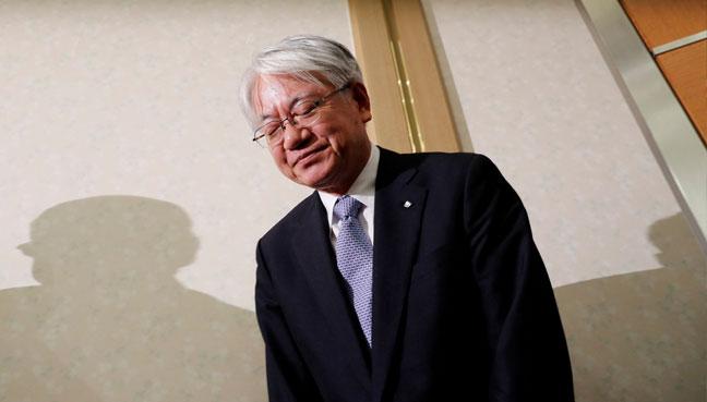 HIROYA-KAWASAKI-KOBE-STEEL-LTD-JAPAN-CEO-QUIT-REUTERS