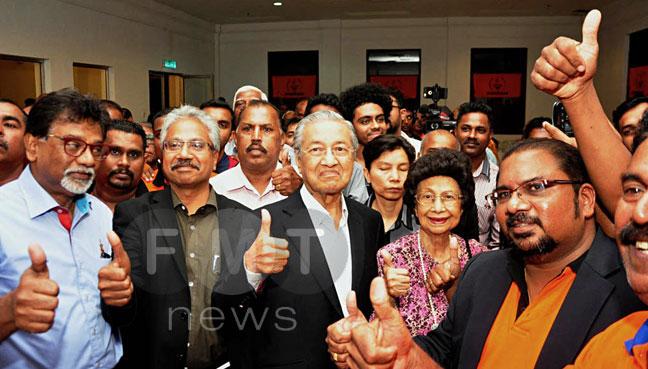Hindraf-Mahathir