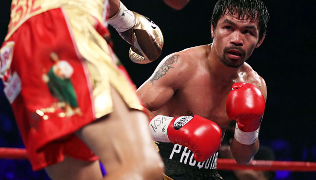'Underdog' Manny Pacquiao announces fight with Lucas Matthysse in June