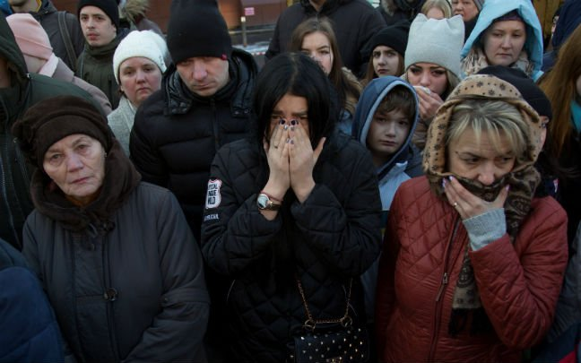 Dozens killed in Russian shopping centre fire