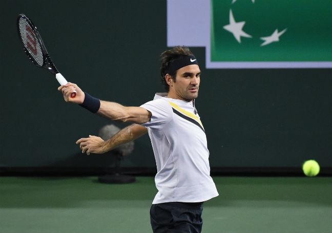 Indian Wells: Roger Federer thrashes Filip Krajinovic, marches into fourth round