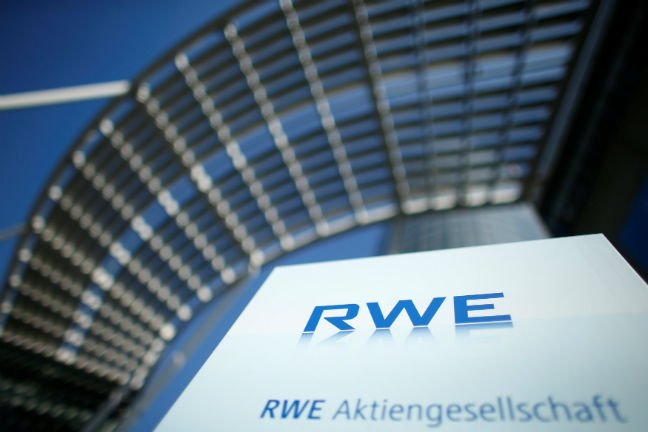 RWE LOGO IN ESSEN GERMANY REUTERS