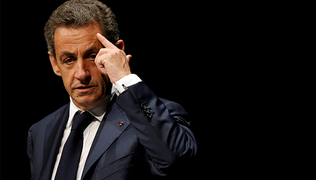 French ex-president Sarkozy in custody in campaign funding probe