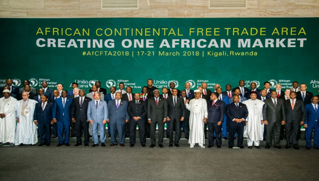 Africa set to agree $3 trillion trade bloc, without key economy