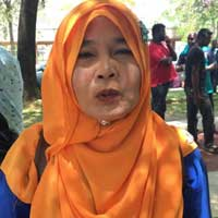 Aisyah Ismail has been living at the estate for nearly 50 years.