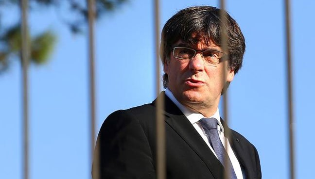 Carles Puigdemont has withdrawn himself from consideration as leader of Catalonia