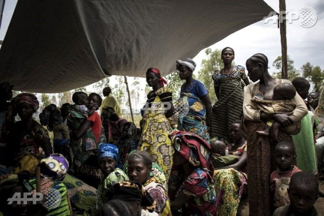 The Democratic Republic of the Congo is currently suffering through a major humanitarian crisis. (AFP pic)
