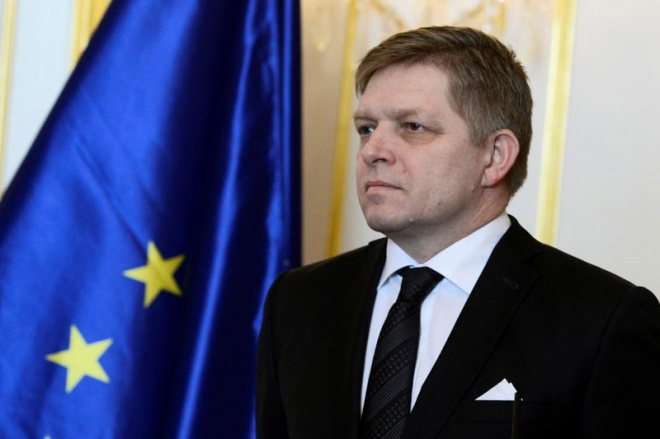 Slovak Prime Minister Robert Fico is facing the most difficult choice of his time in office. (Reuters pic)
