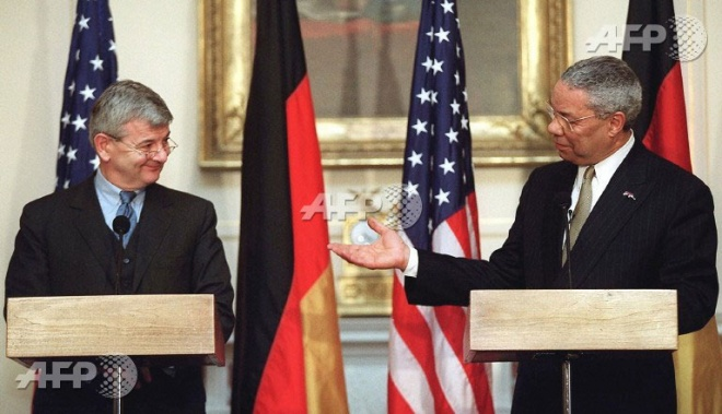 Germany and the United States currently disagree on protectionism. (AFP pic)