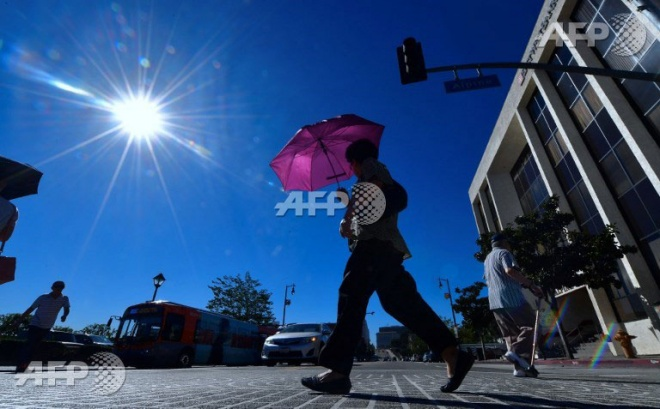 New Zealand has endured a record-breaking heatwave. (AFP pic)