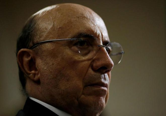 Henrique Meirelles is Brazil's Finance Minister. (Reuters pic)