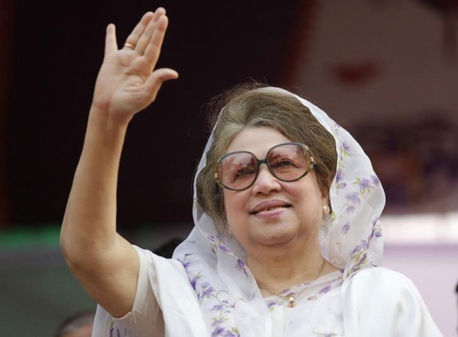 Khaleda Zia was Prime Minister of Bangladesh for 10 years, spread out over two stints. (Reuters pic)