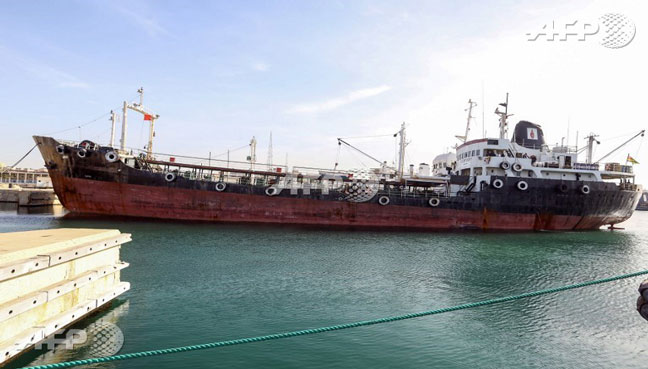 Libyan navy seizes oil tanker suspected of smuggling
