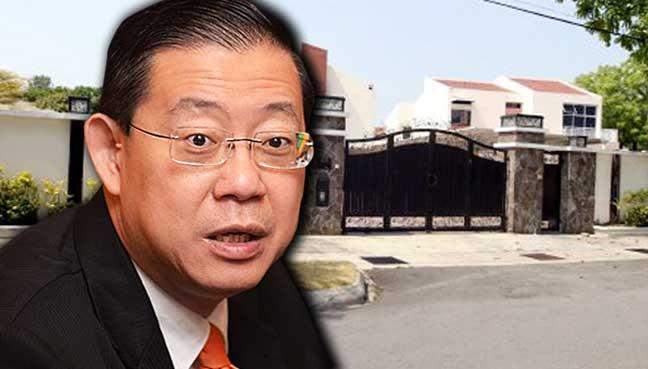 Image result for kes rasuah banglow lim guan eng