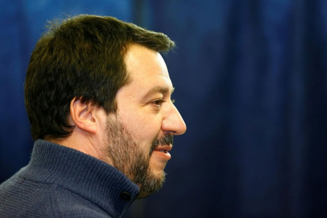 Northern League leader Matteo Salvini has frequently criticised the European Union. (Reuters pic)