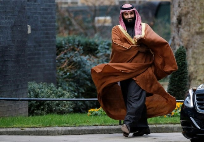 Saudi Crown Prince Likens Iran's Supreme Leader to Hitler