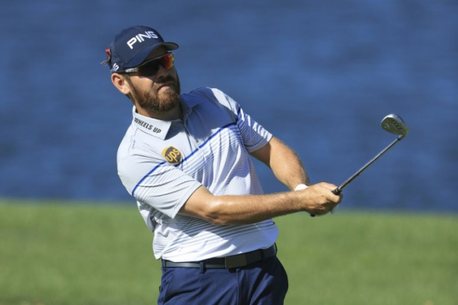 Louis Oosthuizen is in the lead after one round of the WGC-Mexico Championship. (AFP pic)