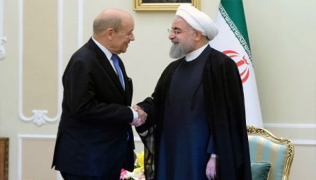 French FM faces criticism on Iran visit