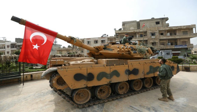 Turkish army discovers secret tunnel leading to underground hospital wing in Afrin