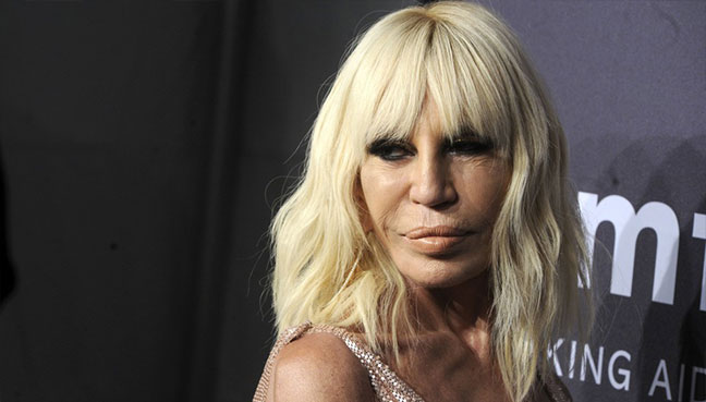 Donatella announces Versace will go fur