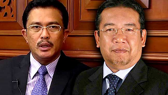 With Both Mersing MP Abdul Latiff Ahmad Right And Former State Exco Abd Latif Bandi Apparently Out Of The Running Questions Remain Over Who Umno Will