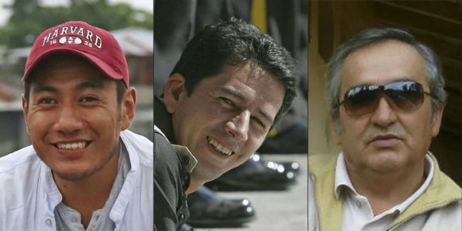 Ecuador's president says kidnapped journalists likely killed