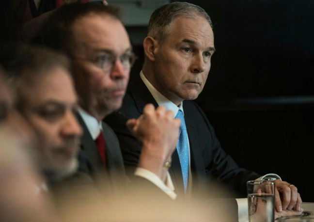 EPA Violated Multiple Laws in Securing Scott Pruitt's Privacy Booth, GAO Finds
