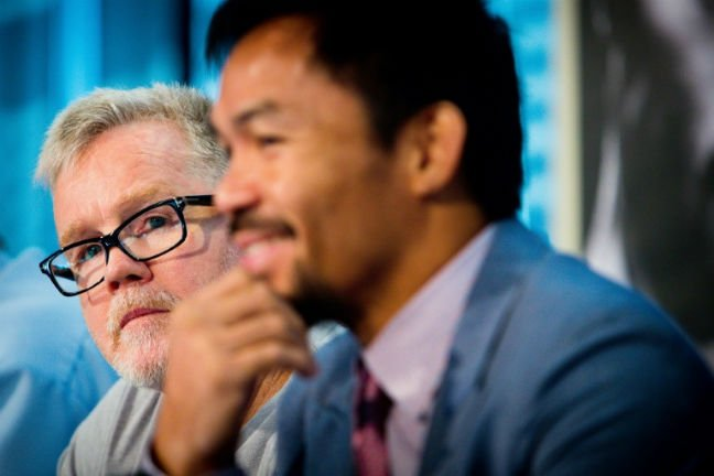 Freddie Roach no longer Pacquiao's trainer