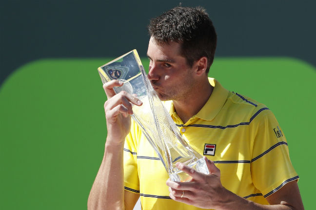 Miami Open: Isner, Potro book semis spot in men's singles