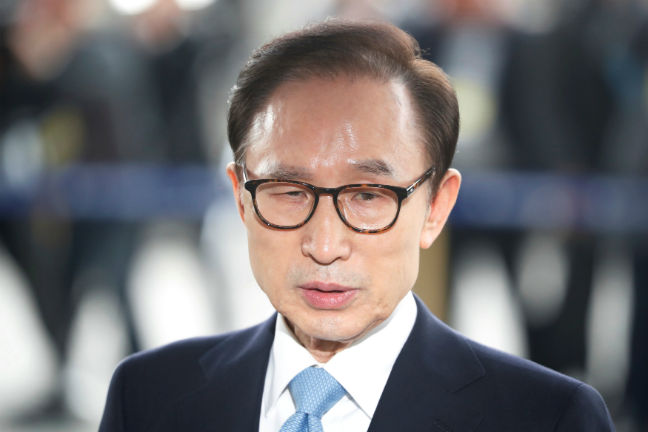 Former South Korean President Lee Myung-bak indicted for corruption