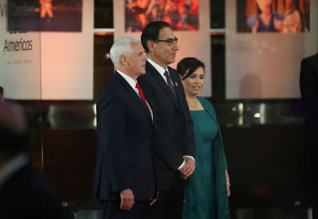 Pence to meet with 4 Latin American leaders during summit