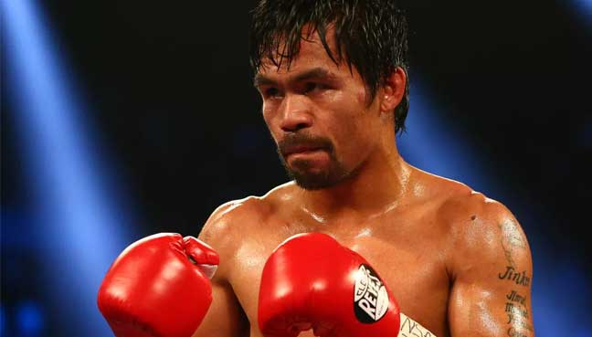 Pacquiao says no decision yet on trainer for Matthysse fight