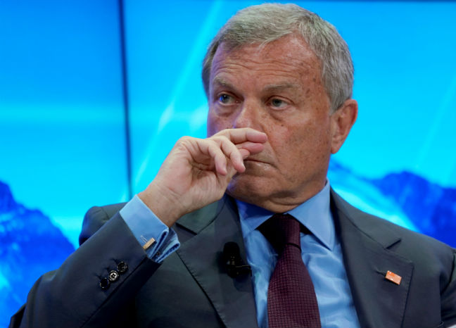 Ad legend Martin Sorrell steps down as CEO of WPP