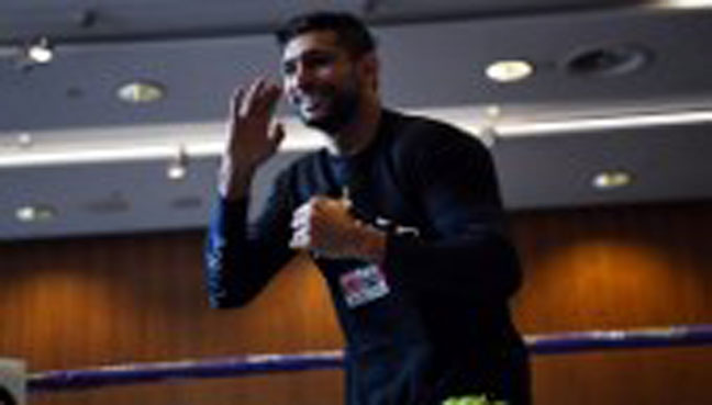 Amir Khan aims to be punch-perfect in comeback fight