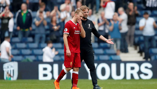 Jurgen Klopp defends Liverpool's Dejan Lovren