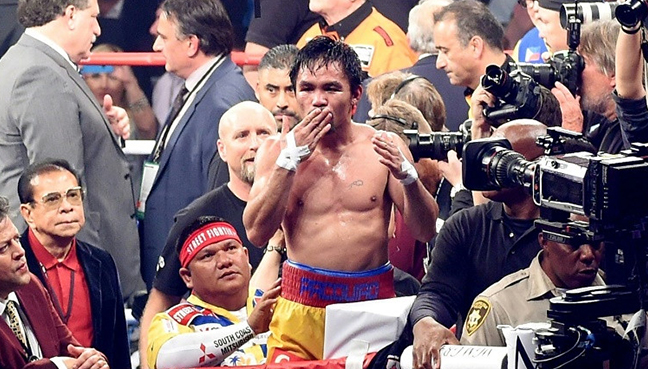 Manny Pacquiao to fight for WBA welterweight title